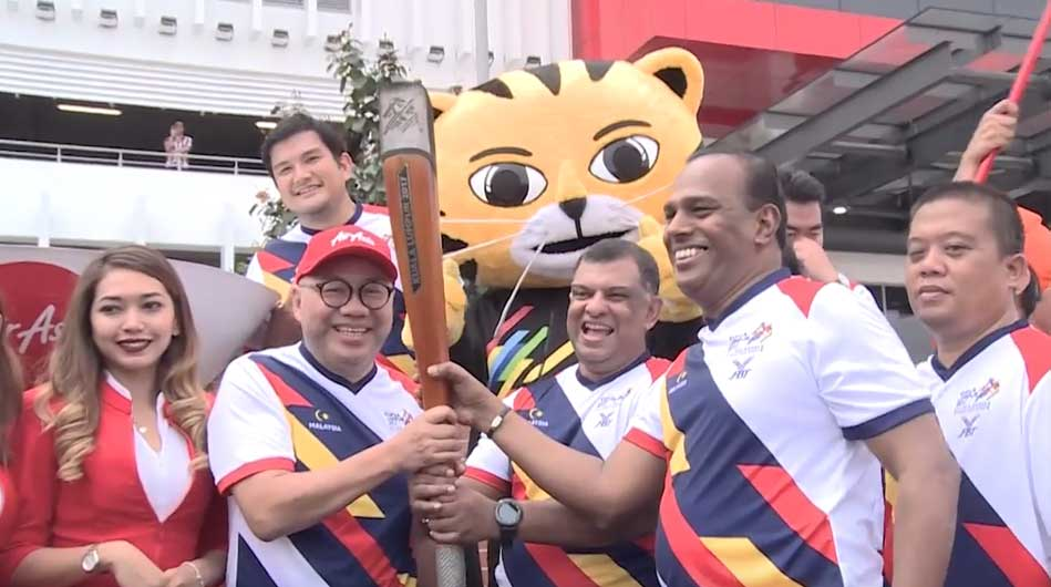 Air Asia Sea Game Torch Run Video